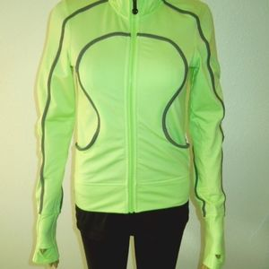 Lululemon lime-green Neon Jacket